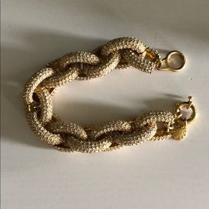 Jcrew gold link bracelet